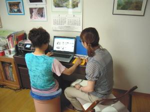 講師派遣の出張パソコン教室ITスクールレッスン風景